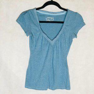 Energie T-Shirt Blue Short Sleeve Cotton Blend